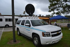 New mobile satcom tech helps South Carolina flood recovery