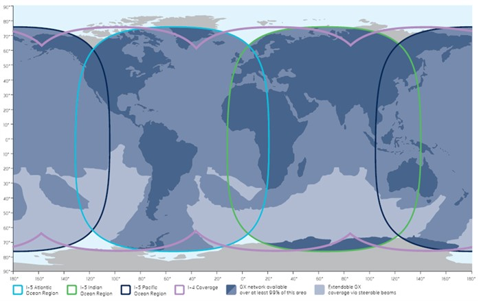 Inmarsat Fleet Xpress Coverage Map 2016