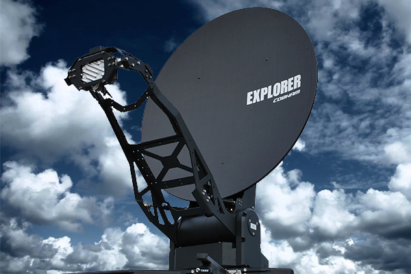 Innovative EXPLORER 8100 receives EutelSat Type Approval