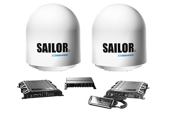 SAILOR 500 FleetBroadband Dual Antenna System